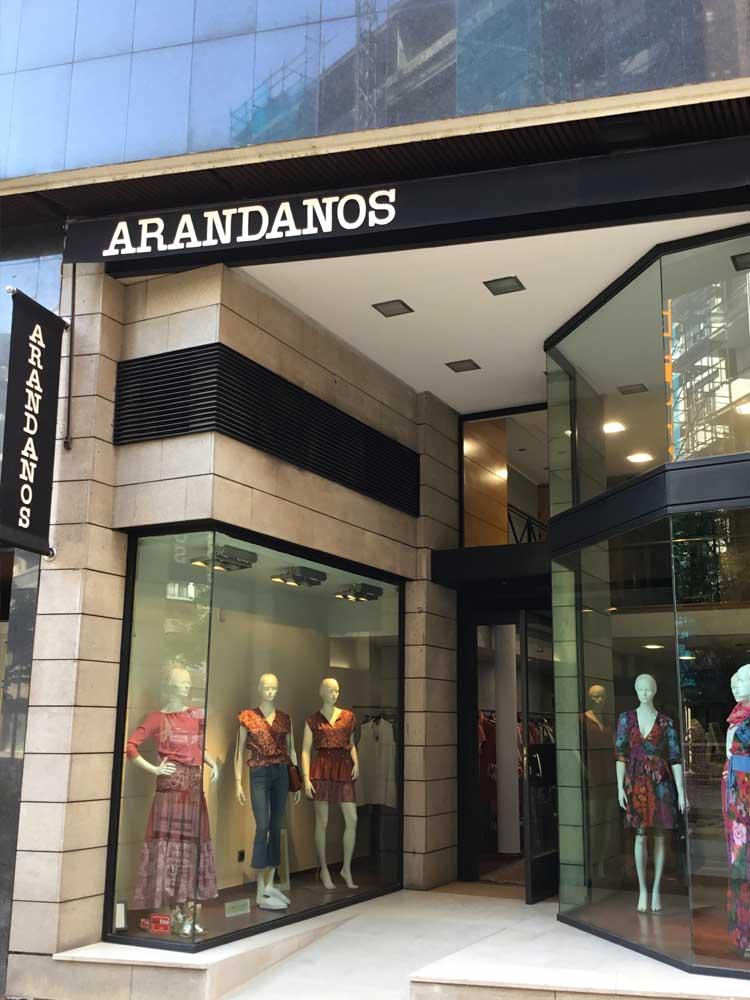 Tienda Arandanos